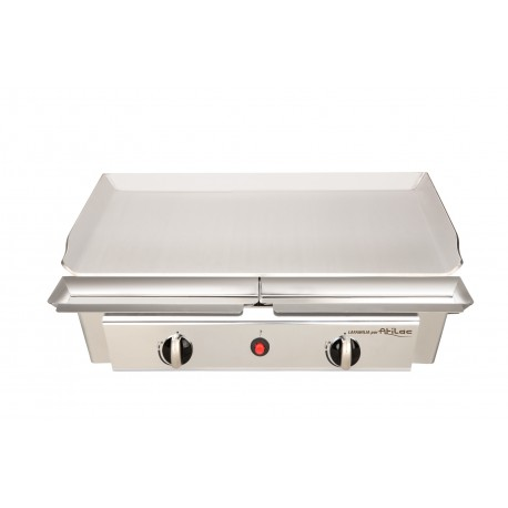 Plancha gaz fabrication fran aise top plancha for Plancha inox ou acier